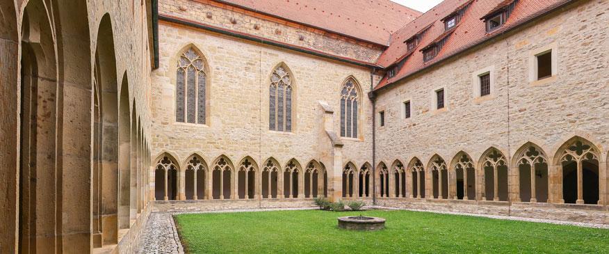 Kreuzgang, Ev. Augustinerkloster zu Erfurt