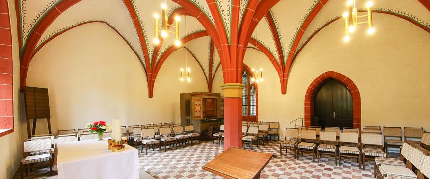 Kapitelsaal im Ev. Augustinerkloster Erfurt