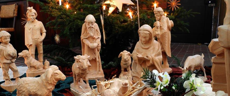 Weihnachtskrippe Augustinerkirche Erfurt