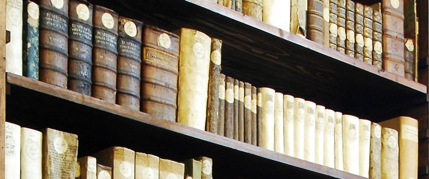 Detailaufnahme – Historische Bibliothek im Augustinerkloster